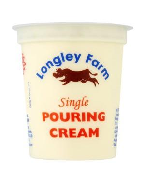 M3 Distribution Services Longley Farm Single Pouring Cream 150ml