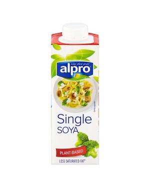 M3 Distribution Services Alpro UHT Soya Single Cream 250ml