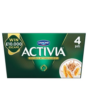 M3 Distribution Services Irish Food Wholesaler Danone Activia Fibre Cereals (6x4x120g)
