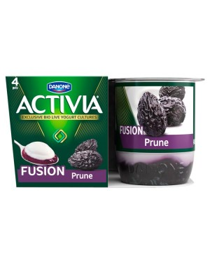 M3 Distribution Services Irish Food Wholesaler Danone Activia Fusions Prune (6x4x125g)