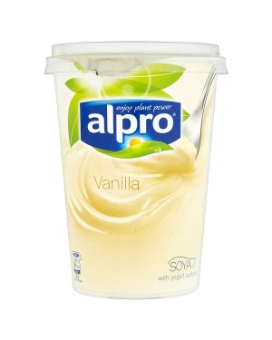 Alpro Vanilla Soya Yogurt Alternative (6x500 G)