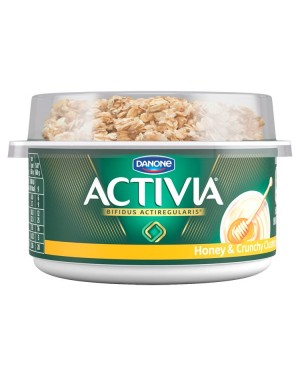 M3 Distribution Services Irish Food Wholesaler Activia Breakfast Pot Honey (6x160g)