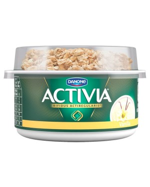 M3 Distribution Services Irish Food Wholesaler Activia Breakfast Pot Vanilla (6x160g)