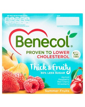 Benecol Summer Fruit Yogurt (6x4X120 G)