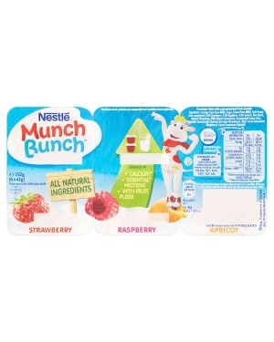 M3 Distribution Services Nestle Munch Bunch 6 Fromage Frais