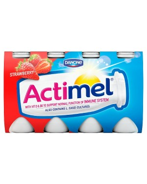 M3 Distribution Services Irish Food Wholesaler Danone Actimel Strawberry (3x8x100g)