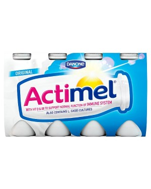 M3 Distribution Services Irish Food Wholesaler Danone Actimel Original (3x8x100g)