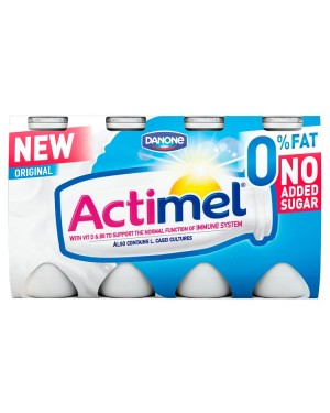 M3 Distribution Services Irish Food Wholesaler Danone Actimel Original 0% Fat (3x8x100g)