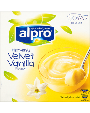 M3 Distribution Services Alpro Soya Dessert Vanilla - 4pack