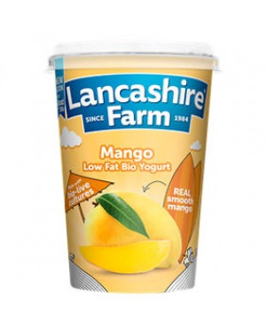 Lancashire Farm Mango Yogurt (12x125 G)