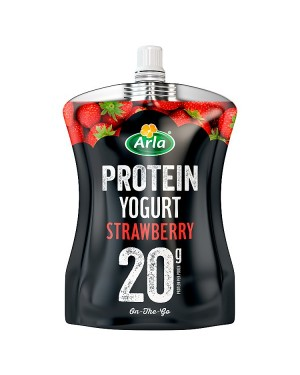Arla Strawberry Protein Pouch (6x200 G)