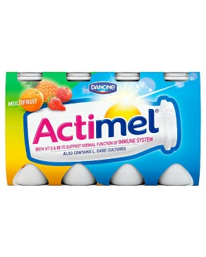 M3 Distribution Services Irish Food Wholesaler Danone Actimel Multifruit (3x8x100g)