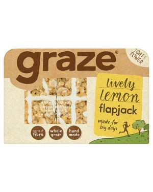 M3 Distribution Irish Wholesale Food Distributor Graze Lemon Drizzle Flapjack 53g
