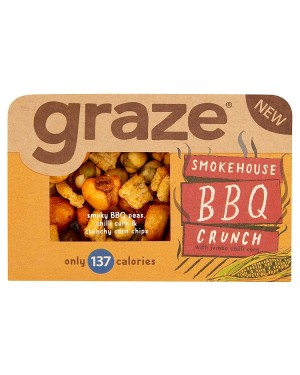 M3 Distribution Irish Wholesale Food Distributor Graze Smokehouse BBQ Crunch 31g