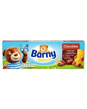 M3 Distribution Services Irish Food Wholesaler Barny Chocolate Sponge Bears 5pack