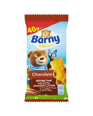 M3 Distribution Services Irish Food Wholesaler Barny Chocolate Sponge Bear PM40p