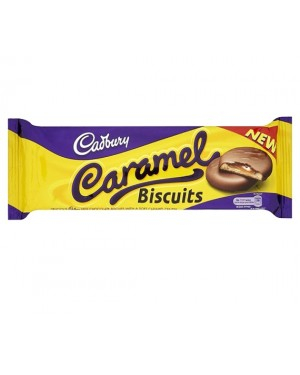 M3 Distribution Services Irish Food Wholesaler Cadbury Caramel Biscuits 130g