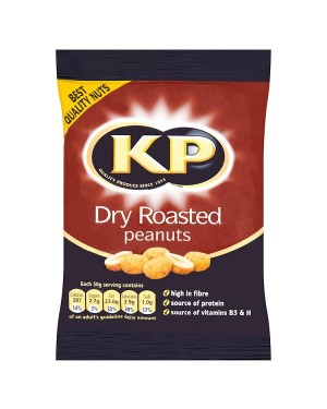 M3 Distribution Irish Wholesale Food Distributor KP Dry Roasted Peanuts 100g