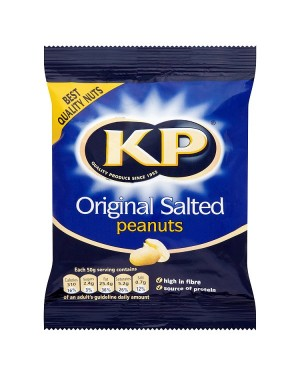 M3 Distribution Irish Wholesale Food Distributor KP Original Salted Peanuts 100g