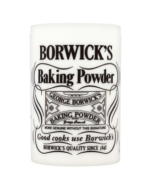 M3 Distribution Services Bulk Irish Wholesale Borwick's Baking Powder 102g