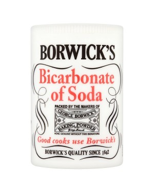 M3 Distribution Services Bulk Irish Wholesale Borwick's Bicarbonate of Soda 100g