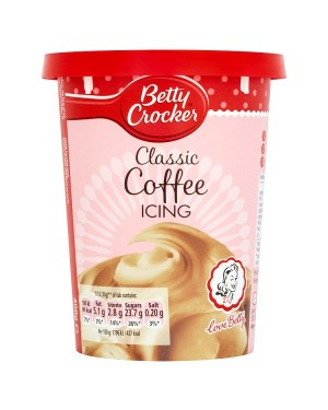 M3 Distribution Services Bulk Irish Wholesale Betty Crocker Classic Coffee Icing 400g