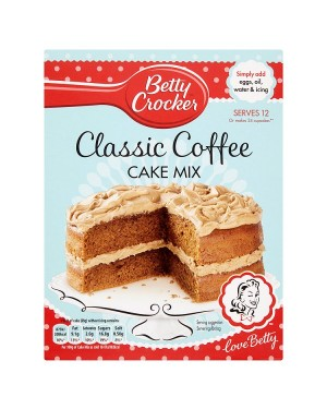 M3 Distribution Services Bulk Irish Wholesale Betty Crocker Classic Coffee Cake Mix 425g