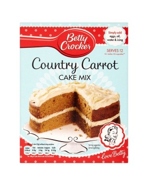 M3 Distribution Services Bulk Irish Wholesale Betty Crocker Country Carrot Cake Mix 425g