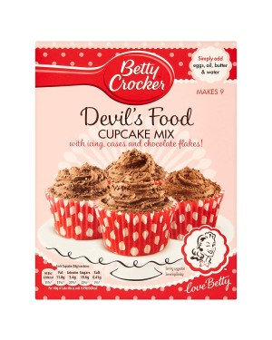 M3 Distribution Services Bulk Irish Wholesale Betty Crocker Devil's Food Cupcake Mix 227g