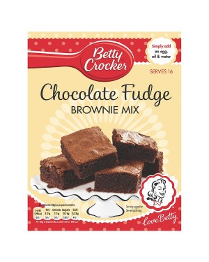 M3 Distribution Services Bulk Irish Wholesale Betty Crocker Fudge Brownie Mix 415g