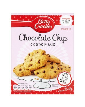M3 Distribution Services Bulk Irish Wholesale Betty Crocker Chocolate Chip Cookie Mix 453g