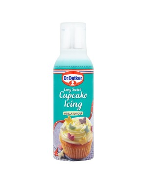 M3 Distribution Services Bulk Irish Wholesale Dr.Oetker Easy Swirl Cupcake Vanilla Icing 180g