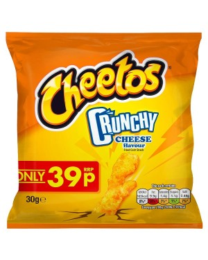 M3 Distribution Irish Wholesale Food Distributor Cheetos Crunchy Cheese PM39p