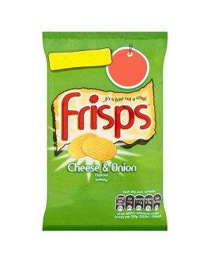 M3 Distribution Irish Wholesale Food Distributor Frisps Cheese & Onion 34g PM3forÃ'Ãâ€ÅÂÂ