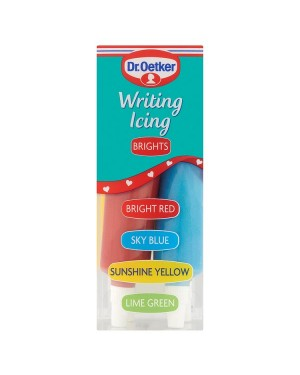 M3 Distribution Services Bulk Irish Wholesale Dr.Oetker Brights Writing Icing