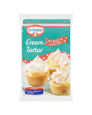 M3 Distribution Services Bulk Irish Wholesale Dr.Oetker Cream Tartar 6 Satchets