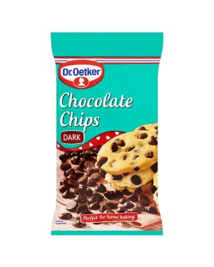 M3 Distribution Services Bulk Irish Wholesale Dr.Oetker Dark Chocolate Chips 100g