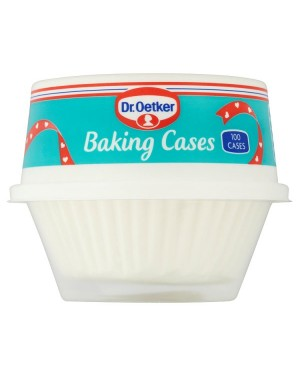 M3 Distribution Services Bulk Irish Wholesale Dr.Oetker 100 White Baking Cases
