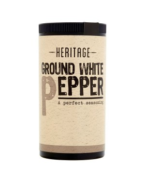 M3 Distribution Services Bulk Irish Wholesale Heritage Ground White Pepper 25g