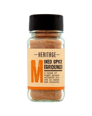 M3 Distribution Services Bulk Irish Wholesale Heritage Mixed Spice Ground 28g