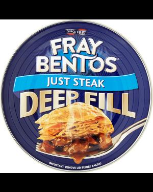 M3 Distribution Services Bulk Food Wholesale Fray Bentos Just Steak Pie 475g
