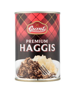 M3 Distribution Services Bulk Food Wholesale Grants Premium Haggis 392g