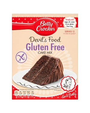 M3 Distribution Services Bulk Irish Wholesale Betty Crocker GF Devil's Food Cake Mix 425g
