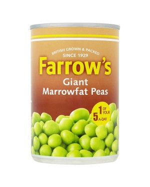 M3 Distribution Services Bulk Food Ireland Farrows Giant Marrowfat Peas 300g