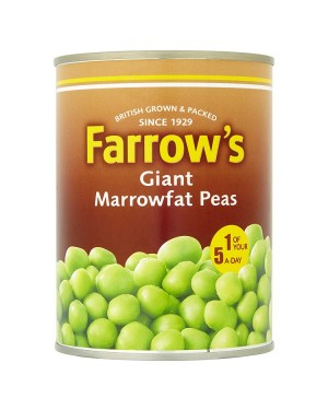 M3 Distribution Services Bulk Food Ireland Farrows Giant Marrowfat Peas 583g