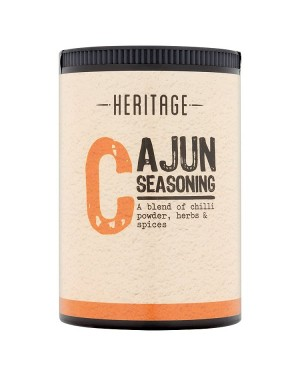 M3 Distribution Services Bulk Irish Wholesale Heritage Cajun Seasoning 60g