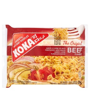 M3 Distribution Services Wholesale Food Koka Instant Beef Flavour Noodles 85g