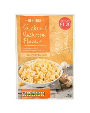 M3 Distribution Services Wholesale Food Heritage Chicken & Mushroom Flavour Pasta & Sauce PM2forÃ'Ãââââ'