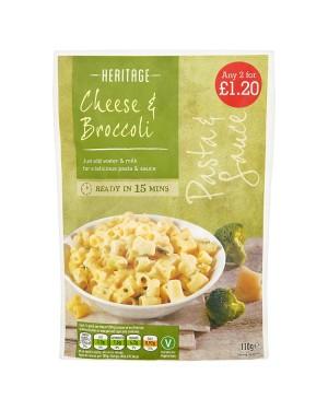 M3 Distribution Services Wholesale Food Heritage Cheese & Broccoli Flavour Pasta & Sauce PM2forÃ'Ãâââ€
