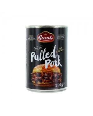 M3 Distribution Services Bulk Food Wholesale Grants BBQ Pulled Pork 392g